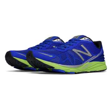 New Balance Vazee Pace, Blue with Lime Green