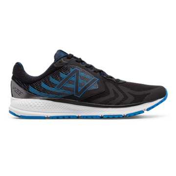 New Balance Vazee Pace v2 Graphic, White with Black & Blue