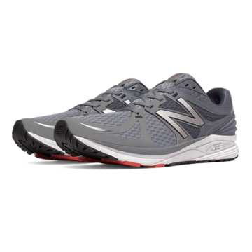 New Balance Vazee Prism, Grey with Red