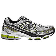New Balance 1064, Silver with Black & Lime Green