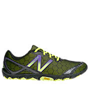 Minimus 10v2, Black with Green & Purple
