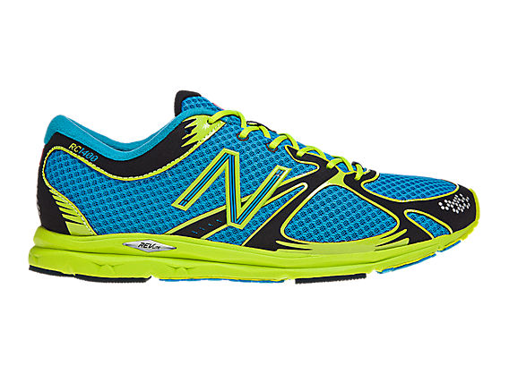 New Balance 1400, Blue with Green