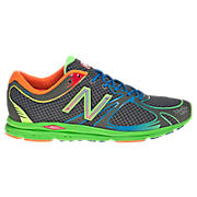 New Balance 1400, Black with Green & Yellow