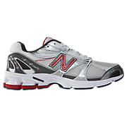 New Balance 580, Grey with Red