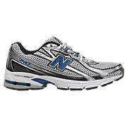 New Balance 740, Silver with Blue