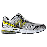 New Balance 770, Silver with Lime Green