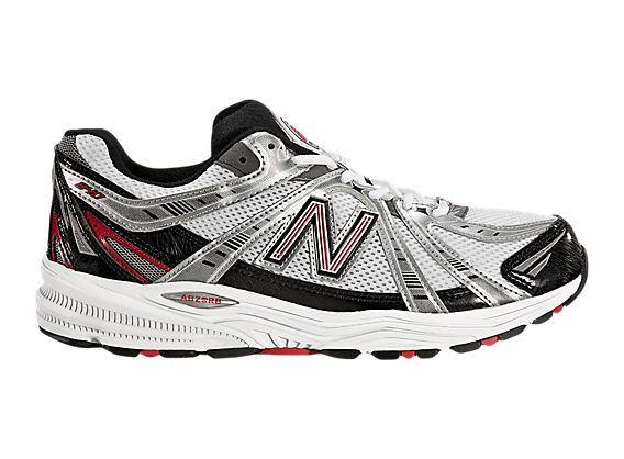 New Balance 840, Silver with Red & Black