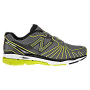 New Balance 890, Grey with Lime Green