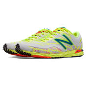 1600v2, Light Grey with Fluorescent Yellow