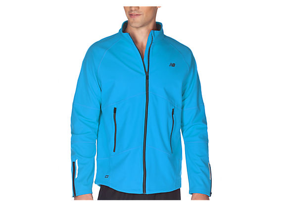 NBx WindBlocker Jacket, Kinetic Blue