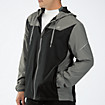 Sequence Hooded Jacket, Black with Grey