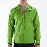 Impact Jacket, Jazz Green with Orange Flash
