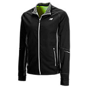 Windblocker Jacket, Black with Magnet
