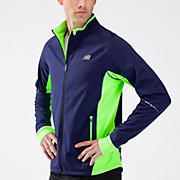 Windblocker Jacket, Medieval Blue with Green Gecko
