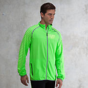 High Visibility Beacon Jacket, Green Gecko with Yellow
