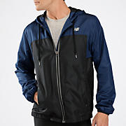 Sequence Hooded Jacket, Medieval Blue with Black