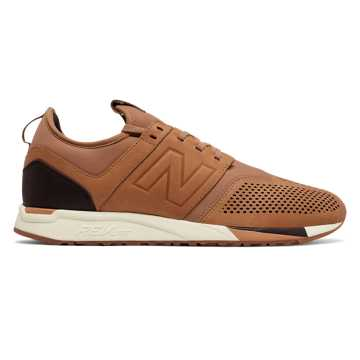 New Balance 247 Luxe, Brown with Brown