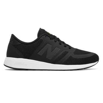 New Balance 420 Re-Engineered, Black with White