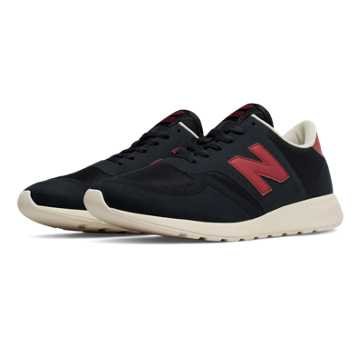 New Balance 420 Re-Engineered Suede, Navy with Red