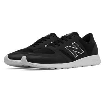 New Balance 420 Reflective Re-Engineered, Black with White