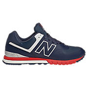Revlite 574, Navy with White & Red