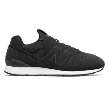 New Balance 696 Deconstructed, Black