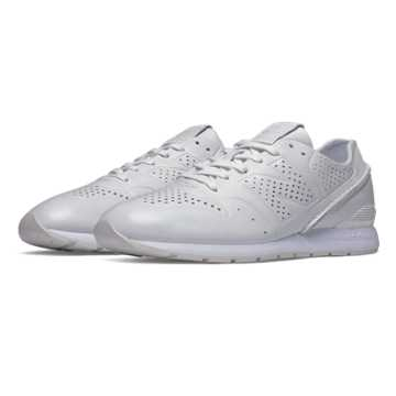 New Balance 696 Deconstructed Leather, White