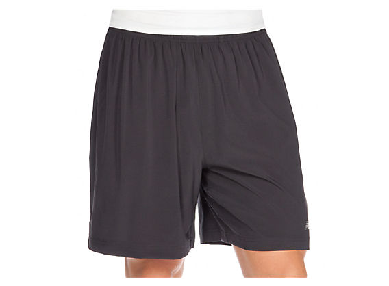 7in 2-in-1 Short, Black