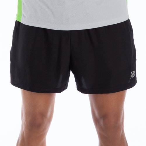 New Balance 3134 Men's 5 Inch Go 2 Short - Black (MRS3134BK)