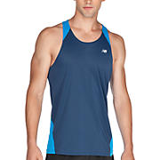 Icefil Singlet, Insignia Blue with Kinetic Blue