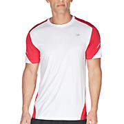 Icefil Short Sleeve, Chinese Red with White