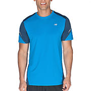 Icefil Short Sleeve, Kinetic Blue with Insignia Blue