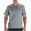 Heathered Short Sleeve, Athletic Grey