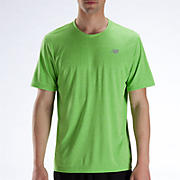 Heathered Short Sleeve, Jazz Green