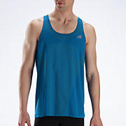 NBx Minimus Singlet, Electric Blue with Lime Punch