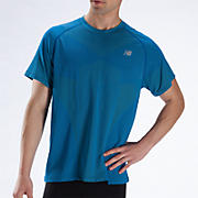 NBx Minimus Short Sleeve, Electric Blue with Lime Punch