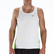 Impact Singlet, Jazz Green with White