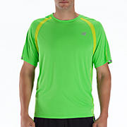 Impact Short Sleeve, Jazz Green with Lime Punch