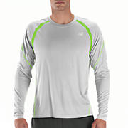 Impact Long Sleeve, Micro Chip with Jazz Green