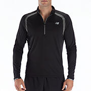 Impact 1/2 Zip, Black with Magnet