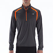 Impact 1/2 Zip, Orange Flash with Magnet