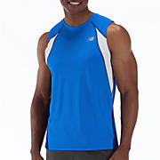 Momentum Sleeveless, Sodalite with Electric Blue & White