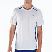 Momentum Short Sleeve, Electric Blue with White & Sodalite