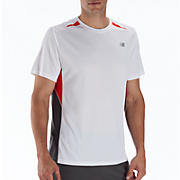 Momentum Short Sleeve, Fiery Red with White & Magnet