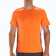 Momentum Short Sleeve, Orange Flash with Magnet & White