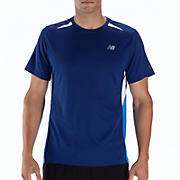 Momentum Short Sleeve, Sodalite with Electric Blue & White