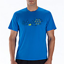 Momentum Short Sleeve Graphic, Electric Blue
