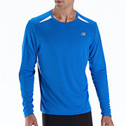 Momentum Long Sleeve, Electric Blue with Sodalite & White