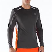 Momentum Long Sleeve, Orange Flash with Magnet & White
