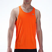 Go 2 Singlet, Orange Flash